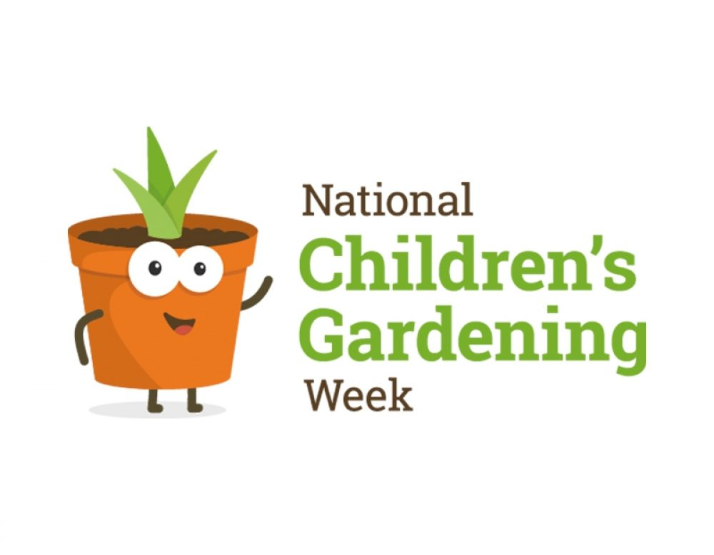 National Children's Gardening Week Logo
